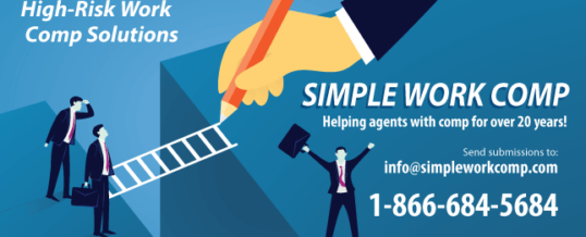 Helping agents with hard-to-place risk clients for over 20 years