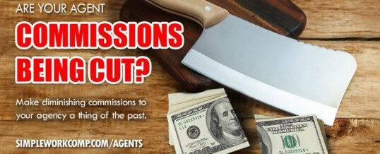 Fix diminishing agent commissions with Simple Work Comp