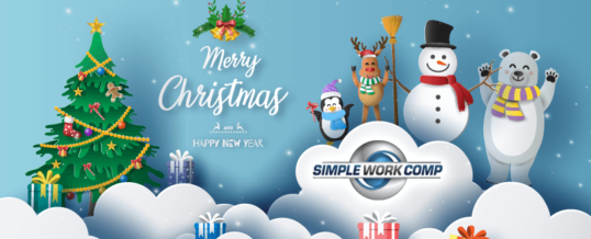 Merry Christmas & Happy Holidays from Simple Work Comp